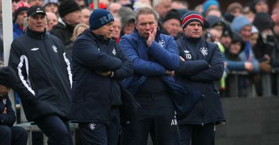 Ally McCoist: Rangers manager unhappy with Stirling's equaliser