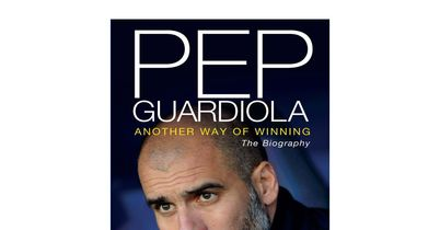 Signed Pep Guardiola Book