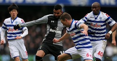 Sandro: In action at Loftus Road before suffering a knee injury