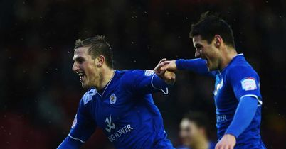Chris Wood: Leicester's hat-trick hero at Bristol City