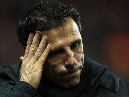 Gianfranco Zola: Unhappy with mistakes made by his side