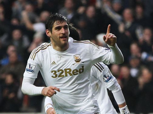 Danny Graham: Remains linked with a January exit from Swansea