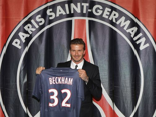 David Beckham: Links up with PSG