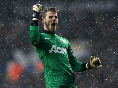 David de Gea: Criticised after his blunder at Spurs