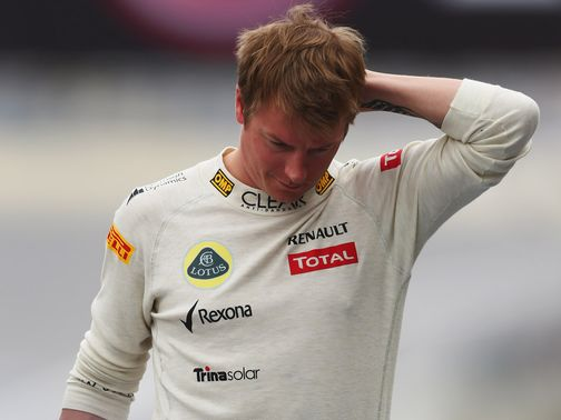 Kimi Raikkonen: Realistic about his chances in 2013