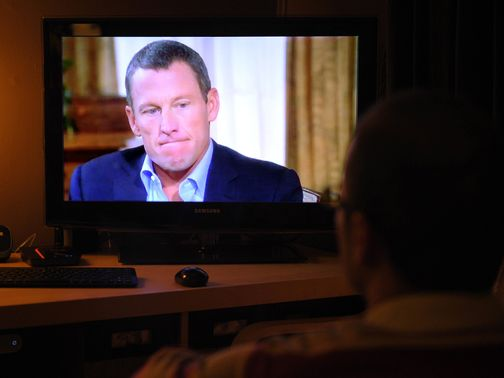 Lance Armstrong: Confessed to taking performance-enhancing drugs