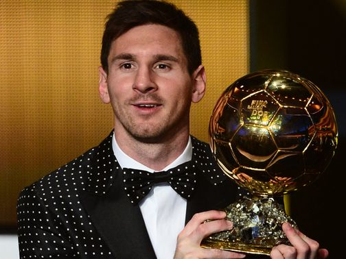 Lionel Messi: Four-time Ballon d'Or winner