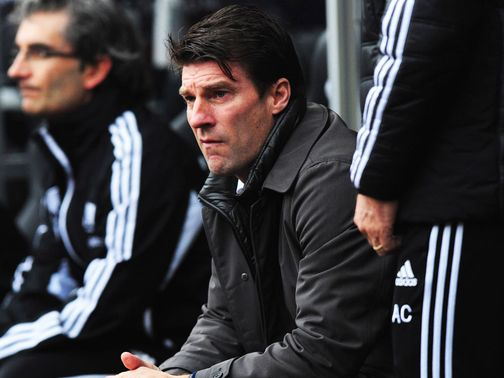 Michael Laudrup: Prefers away leg first