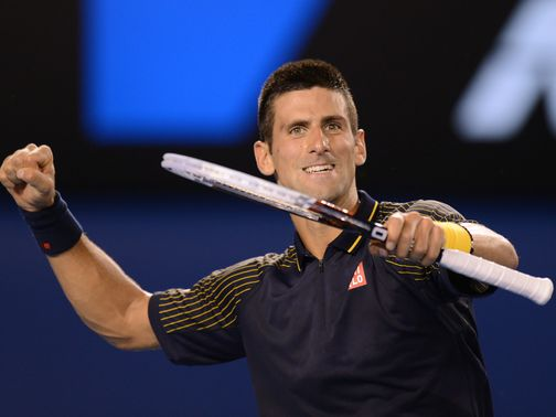 Novak Djokovic: Through to the final in Melbourne
