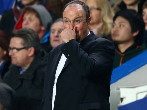 Benitez: Thinks a top-four finish is more important than trophies
