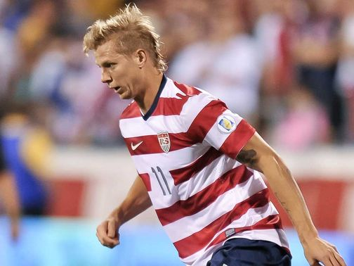 Brek Shea: Watched Stoke draw with Wigan