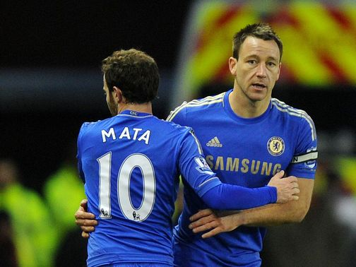 John Terry: Came off the bench at Stoke last weekend