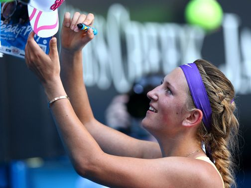 Victoria Azarenka: Getting ready to face Li Na