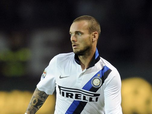Wesley Sneijder: Nearing move to Turkey