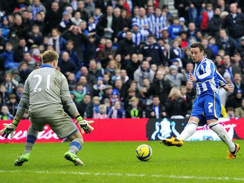 Will Hoskins scored Brighton's second goal