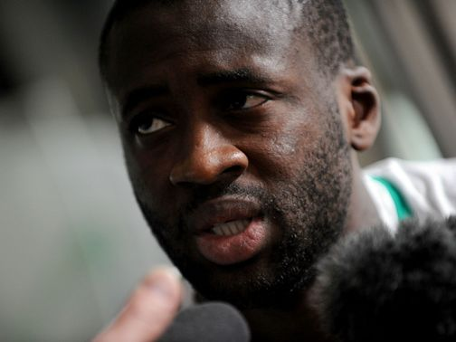 Yaya Toure: Looking to help City push on in title race