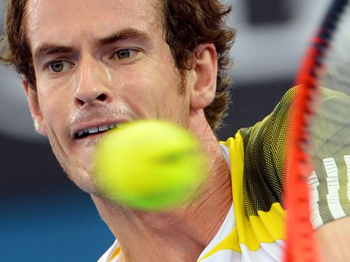 Andy Murray: Seeded third at Melbourne Park