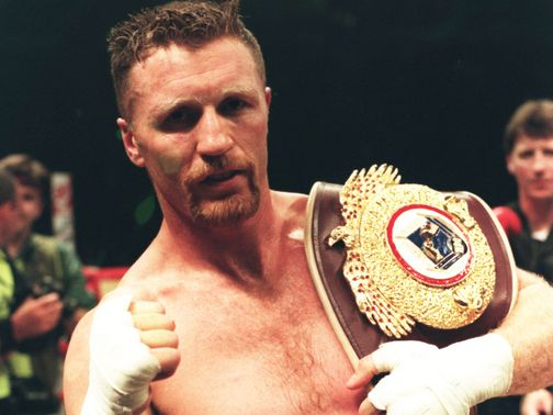 Steve Collins: Successful reign as WBO super-middleweight champion