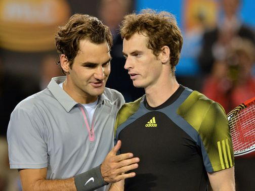 Federer and Murray: No hard feelings