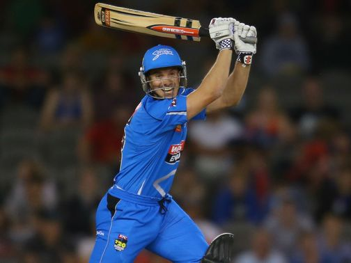 Michael Klinger: Hit eight fours in his 61-ball knock of 71 for the Strikers