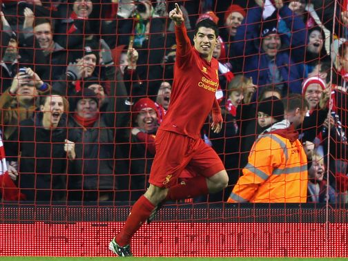 Suarez: Enjoying superb season with Liverpool
