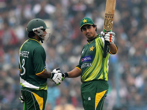 Nasir Jamshed: Second century of the series
