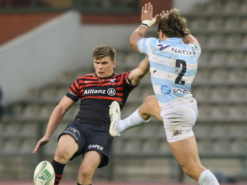 Owen Farrell: Kicked a record 10 penalties