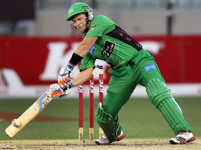 Brad Hodge: Top-scored for Melbourne Stars