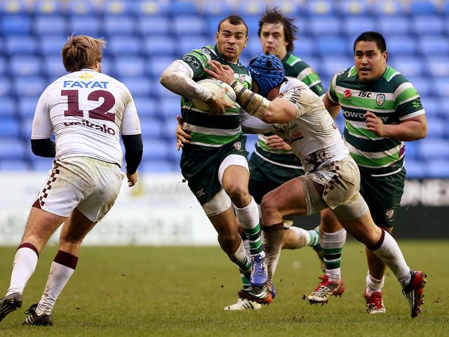 Jonathan Joseph in action for London Irish