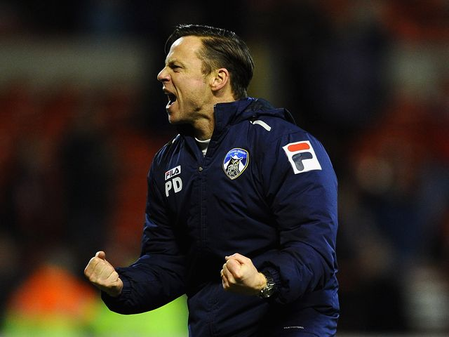 Paul Dickov: Hoping for City in next round