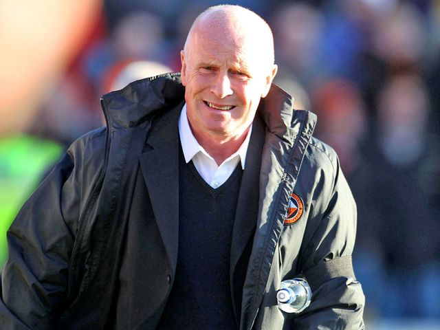 Peter Houston: Has a fully-fit squad to face Ross County