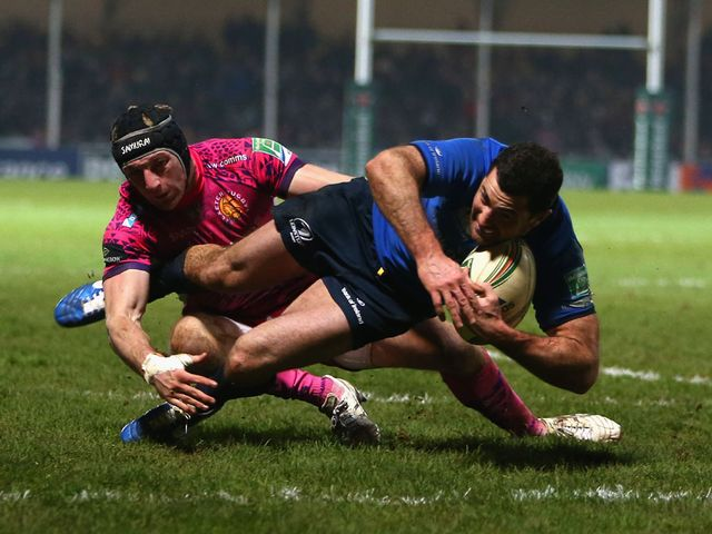 Rob Kearney scored a try for Leinster