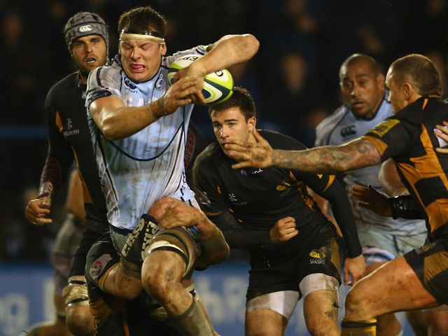 Robin Copeland: Try scorer for Cardiff Blues
