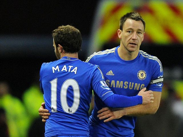 John Terry: Was missing on Saturday