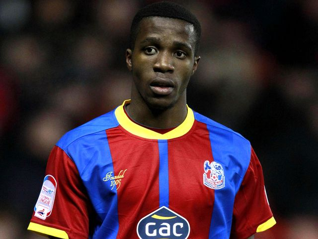 Wilfried Zaha: Struck the Bolton post