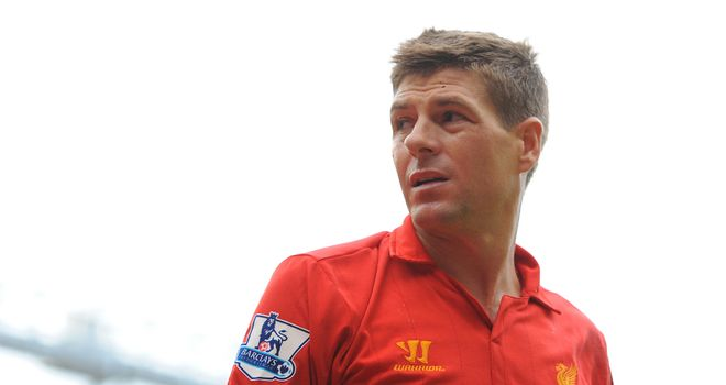 Steven Gerrard: The Liverpool captain has scored just five goals this season