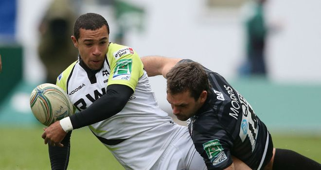 Eli Walker: starring role for the Ospreys this season