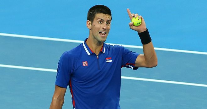 Novak Djokovic: Serb dropped two games during win over Tommy Haas