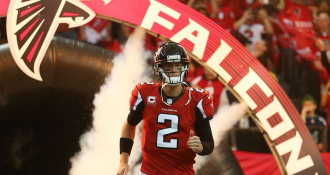 Matt Ryan: Has pledged his future to the Falcons by signing contract extension