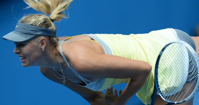 Maria Sharapova: Recorded a 6-0 6-0 victory