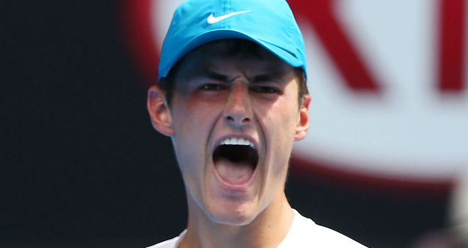Bernard Tomic: Came through in four sets