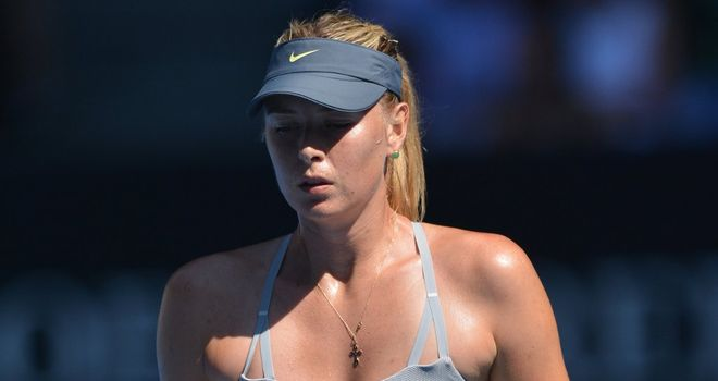 Maria Sharapova: Left out of Russia squad