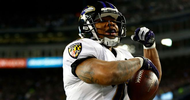 Ray Rice is a game time decision for the Ravens