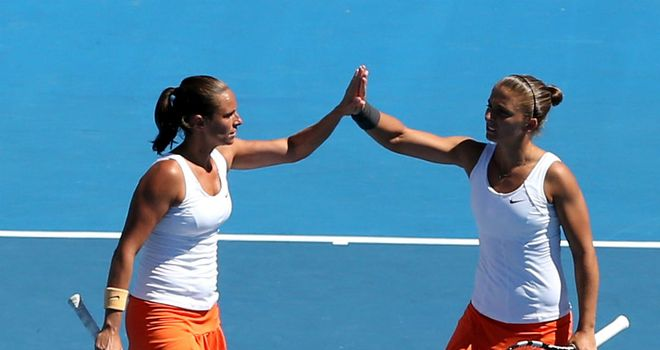 Sara Errani and Roberta Vinci: Italy's doubles pair the world No 1 partnership