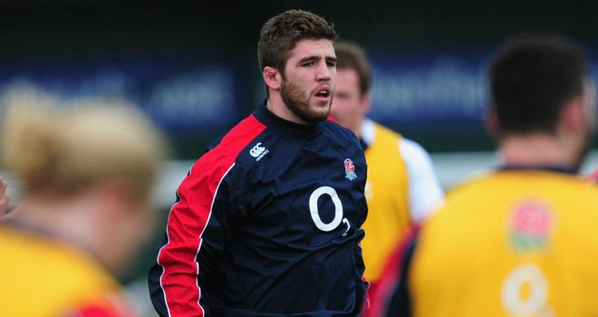 Will Fraser: Scored against Ireland Wolfhounds on his Saxons debut