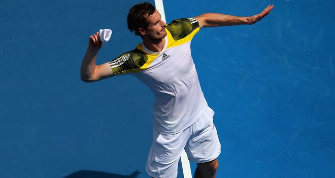 Andy Murray: Is ready for his clash with the resurgent Lithuanian on Saturday