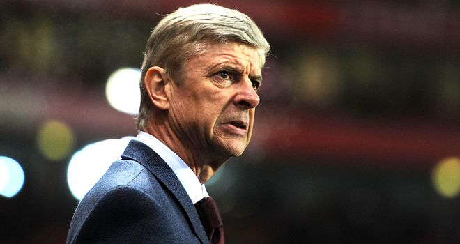 Arsene Wenger: Arsenal boss has set his sights on another top-four finish