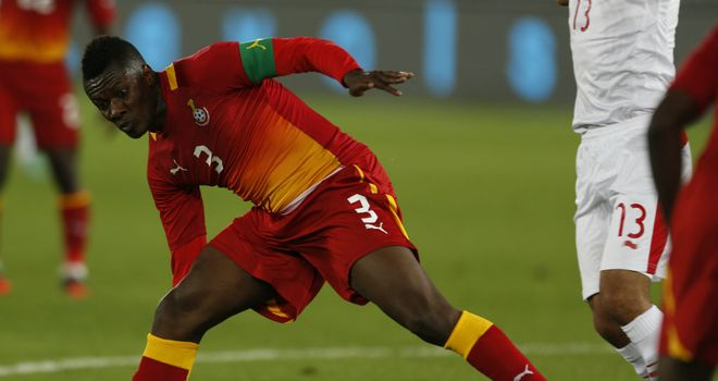 Asamoah Gyan: Not yet scored at the tournament