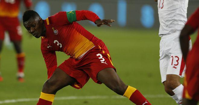 Asamoah Gyan: Not yet scored at the tournament