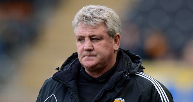 Steve Bruce: Hull City boss will hope to close to within two points of Cardiff